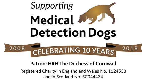 Medical Detection Dogs — our 2018 charity